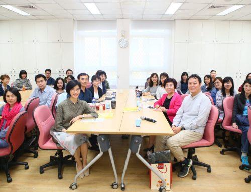 中英文閱讀素養-LTTC與品學堂黃國珍總編輯交流